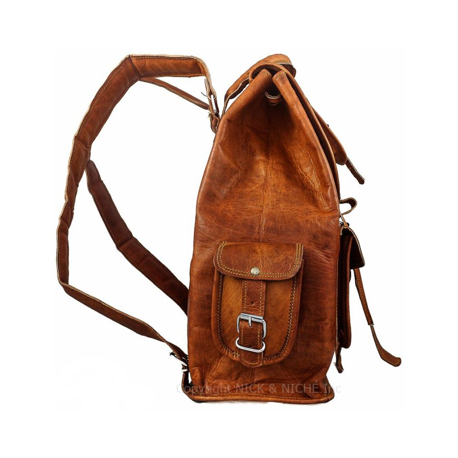 ... Genuine Leather Travel Bag backpack · NICK   NICHE Premium Handmade  Vintage ... 3240e1b1912ce
